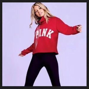 Victoria's Secret PINK cowl neck over sized sweatshirt